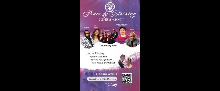 Peace & Blessing Event on June 5th